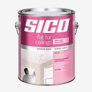 SICO<sup>®</sup> Ceilings Paint with Pink Dye Interior Paint