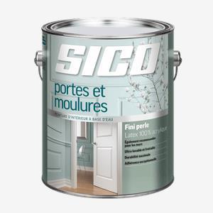 SICOᴹᴰ Peinture d'intérieur au latex pour portes et moulures