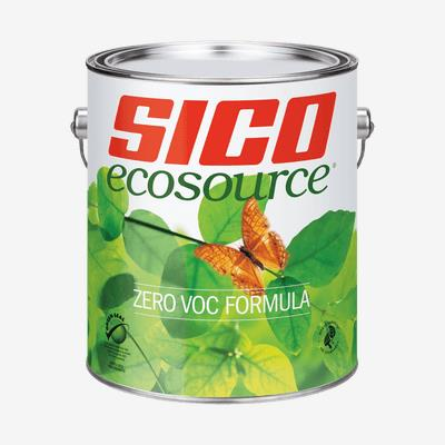 SICO<sup>®</sup> Ecosource<sup>®</sup> 0 VOC 100% Acrylic Latex Interior Paint
