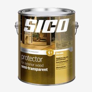 SICO<sup>®</sup> Exterior Semi-Transparent Protector