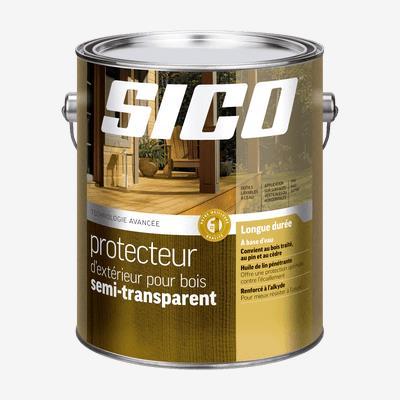 SICOᴹᴰ  Protecteur d'extérieur pour bois semi-transparent - formule avancée