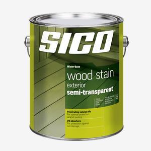 SICOᴹᴰ  Teinture d'extérieur pour bois semi-transparente