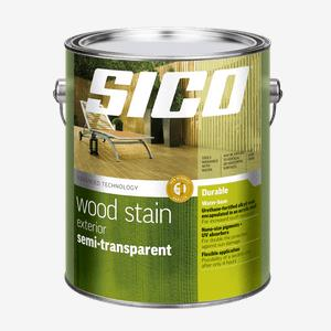 SICO<sup>®</sup> Exterior Semi-Transparent Stain Our Best Quality