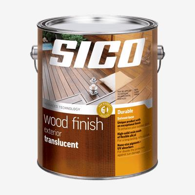 SICO<sup>®</sup> Exterior Translucent Wood Coating Our Best Quality