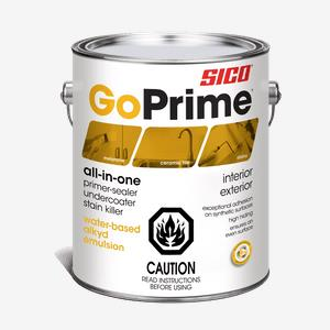 SICO<sup>®</sup> GoPrime<sup>®</sup> All-in-One Primer Interior and Exterior Paint with Alkyd Emulsion