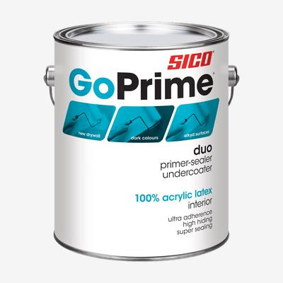 SICO<sup>®</sup> GoPrime<sup>®</sup> Duo Primer-Sealer and Undercoater Interior Paint
