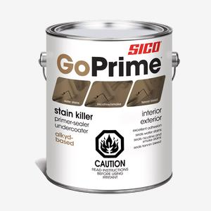 SICO<sup>®</sup> GoPrime<sup>®</sup> Stain-Killer Primer Interior and Exterior Paint
