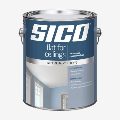 SICO<sup>®</sup> Interior Flat Alkyd Paint for Calcimine Ceilings