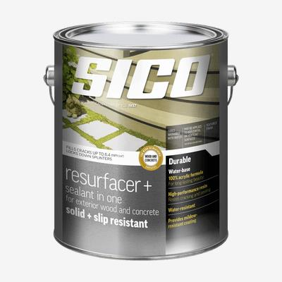 SICO<sup>®</sup> Resurfacer for Exterior Wood and Concrete