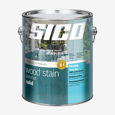 SICO<sup>®</sup> Solid Exterior Stain Our Best Quality