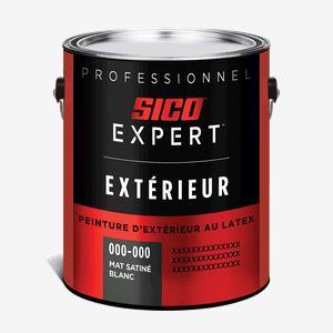SICO Expertᴹᴰ  Peinture d'extérieur latex 100 % acrylique