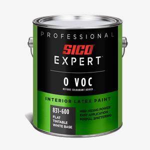 SICO Expert<sup>®</sup> Zero VOC Interior Latex Paint
